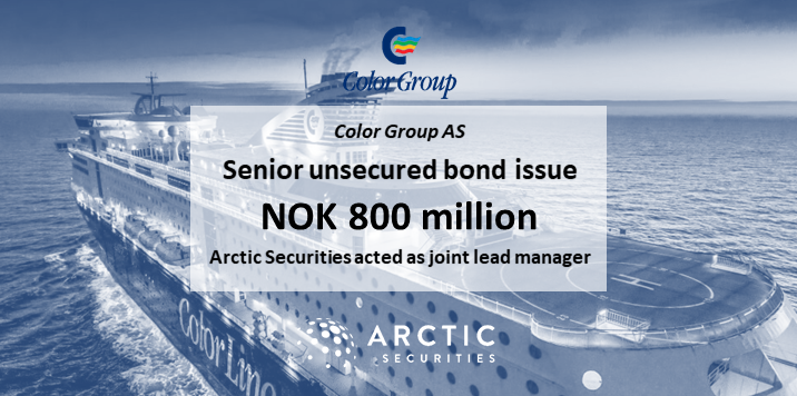 Color Group AS - NOK 800 million - Senior unsecured bond issue