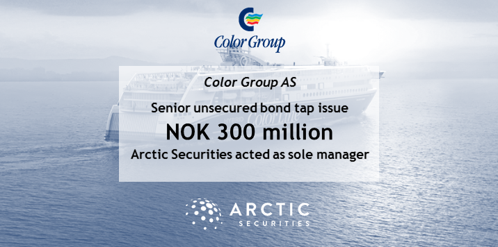 Color Group AS - NOK 300 million - Senior unsecured bond tap issue