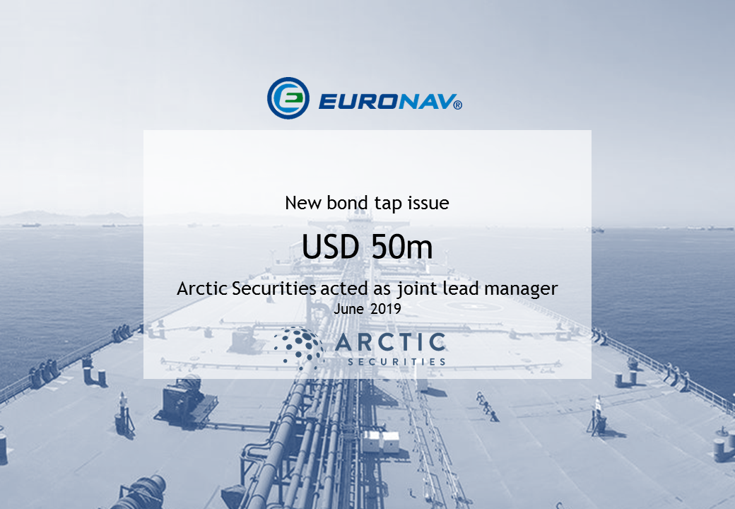 Euronav - USD 50m - New bond tap issue