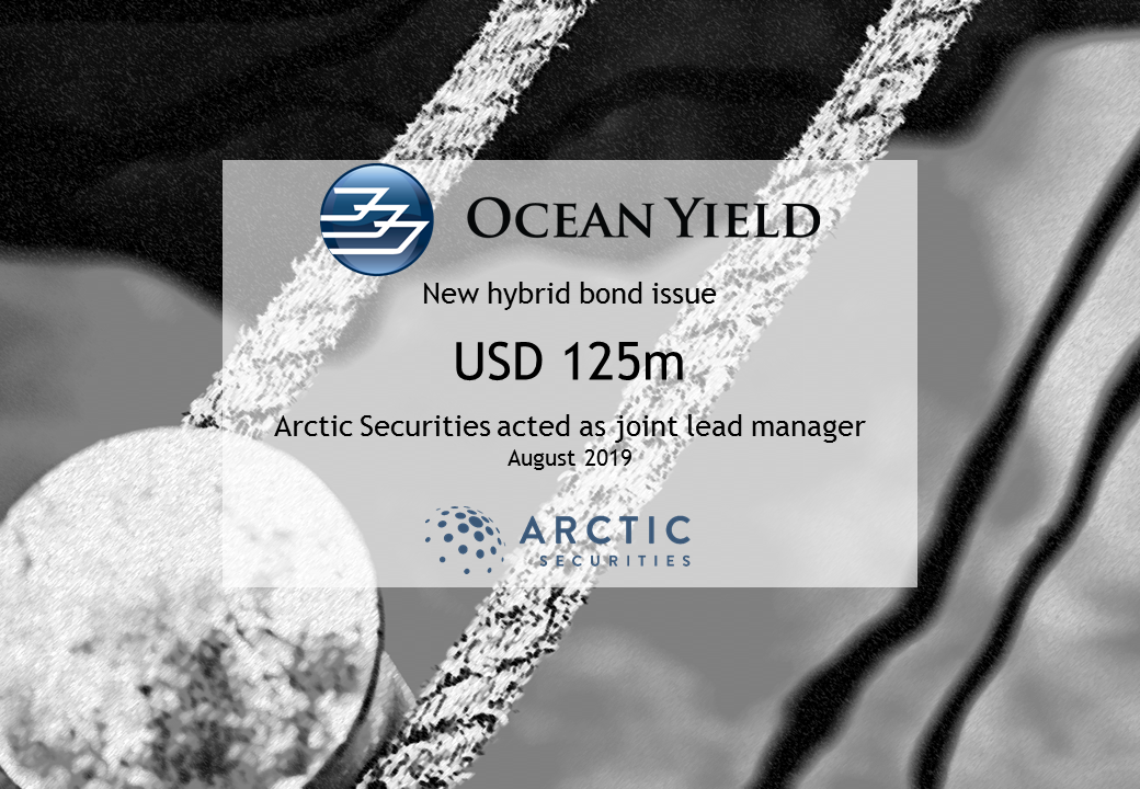 Ocean Yield ASA - New hybrid bond issue - USD 125m