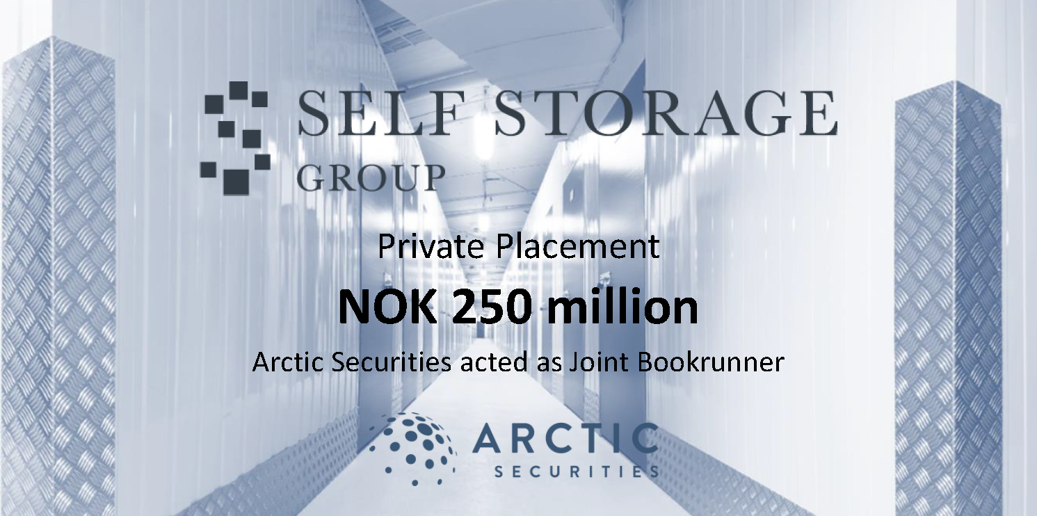 Self Storage Group - NOK 250 million - Private Placement
