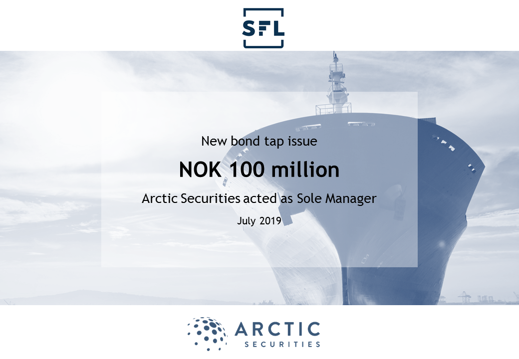 Ship Finance - NOK 100 million - Bond Tap Issue
